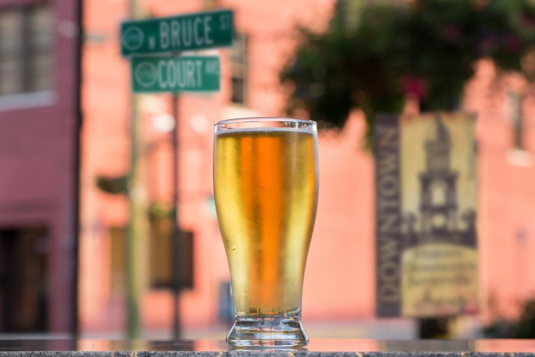 Check out great events in downtown Sevierville, like the Bruce Street Brewfest (Oct. 7).