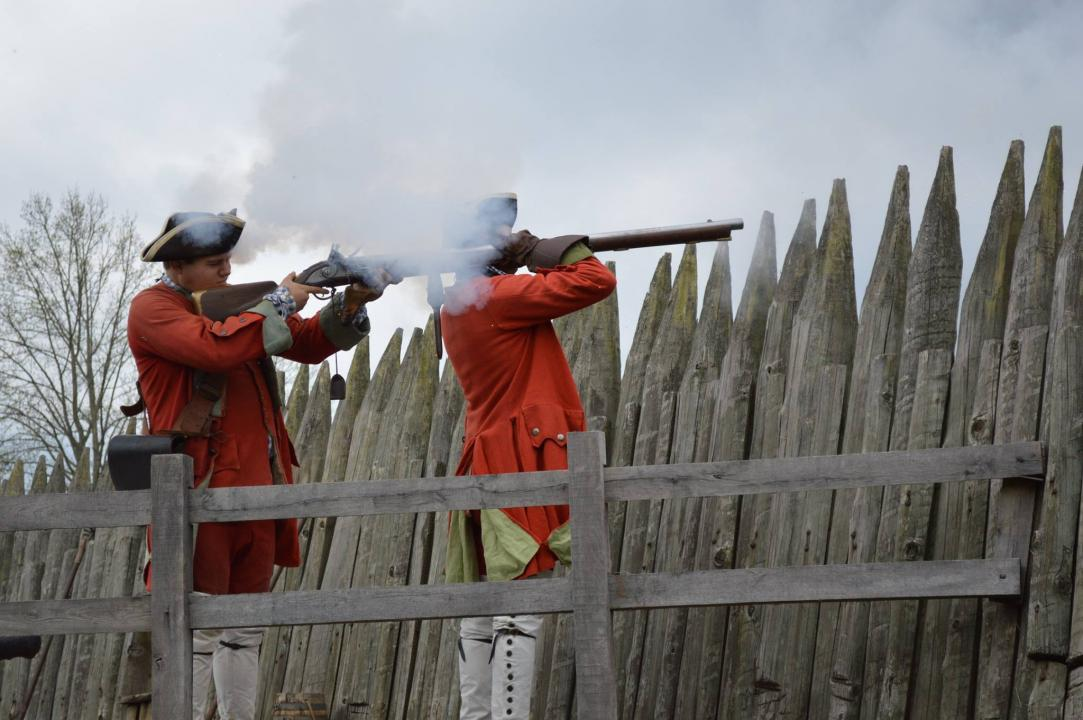 Travel back in time and attend Fort Loudoun State Historic Park's many reenactments throughout the year