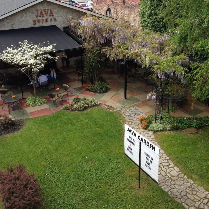 Java Garden Cafe in Morristown, TN - Tennessee Vacation