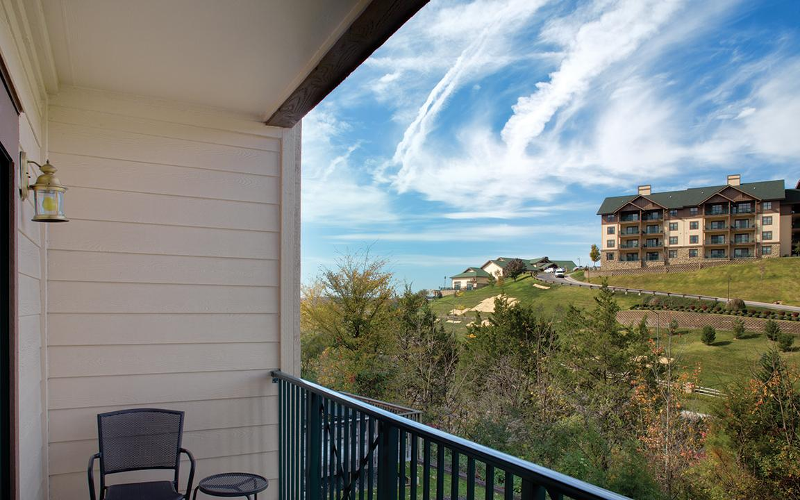 Sevierville, TN - Wyndham Smoky Moutains, Private Balcony