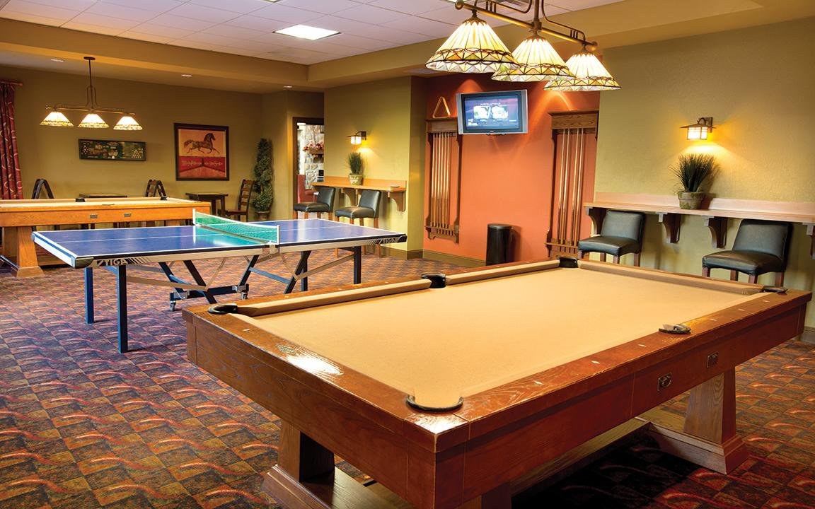 Sevierville, TN - Wyndham Smoky Moutains, Game Room