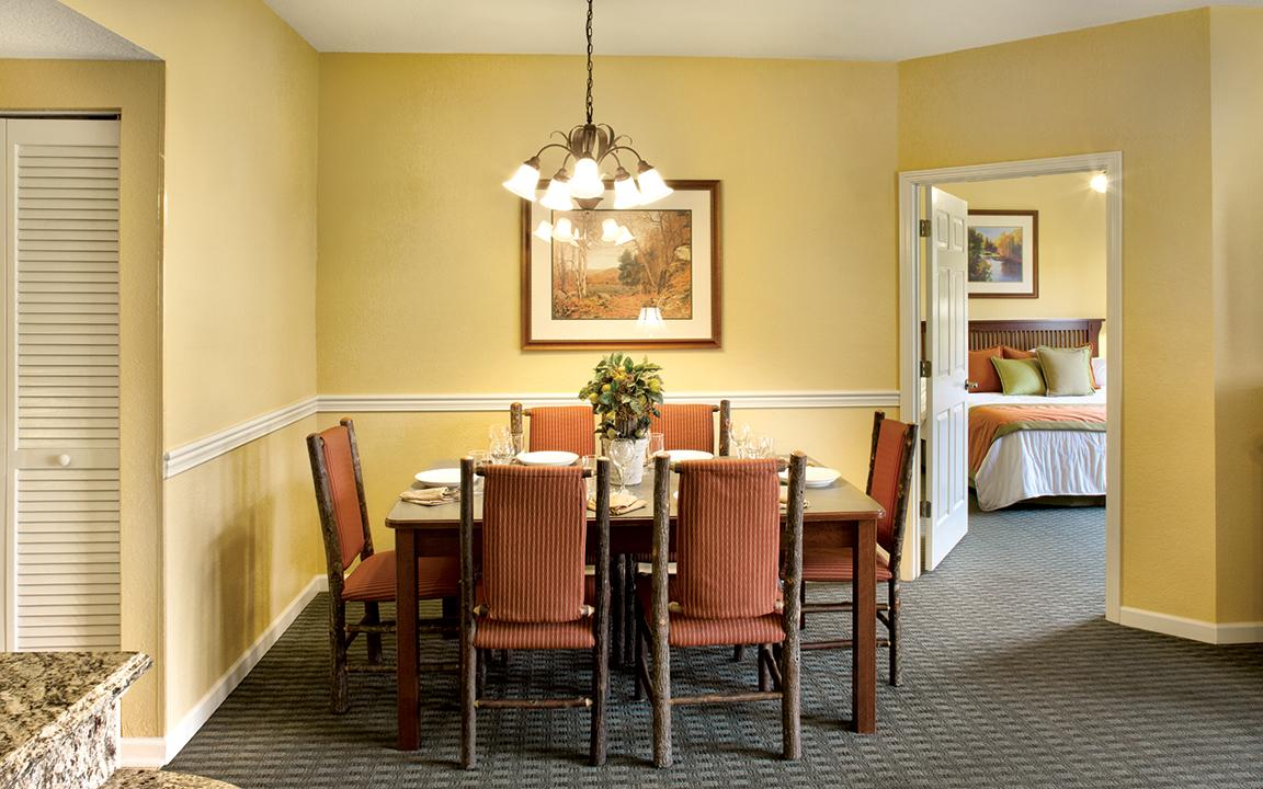 Sevierville, TN - Wyndham Smoky Moutains, Dining Area