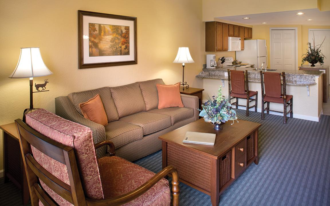 Sevierville, TN - Wyndham Smoky Moutains, Living Area