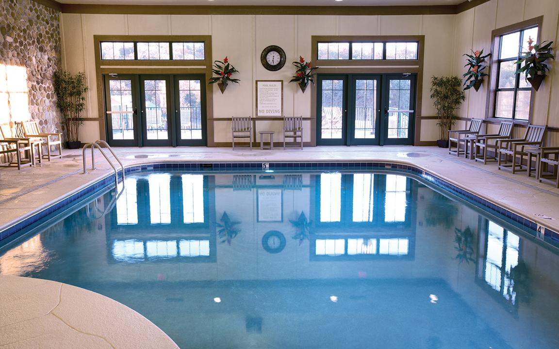 Sevierville, TN - Wyndham Smoky Moutains, Indoor Pool