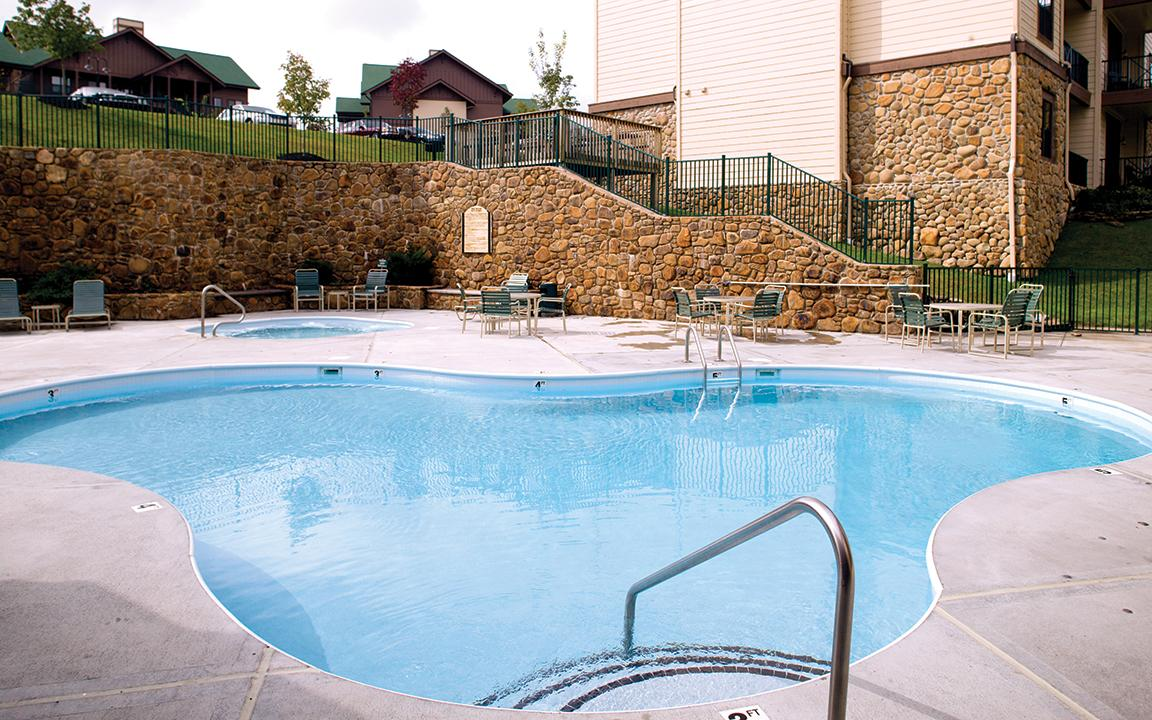 Sevierville, TN - Wyndham Smoky Moutains, Second Outdoor Pool