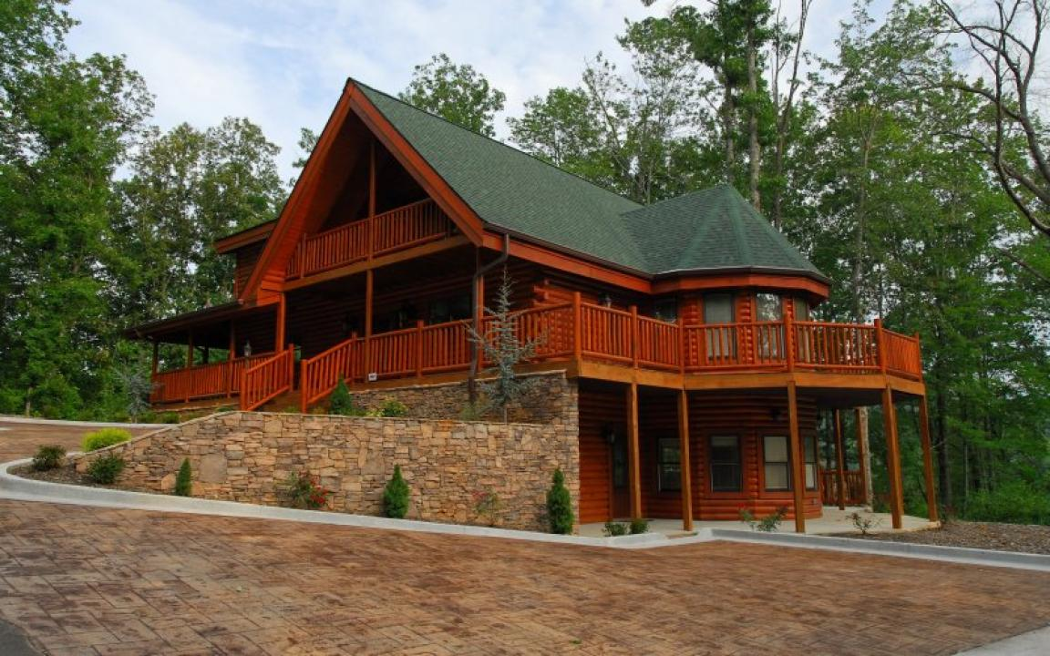 Timber Tops Luxury Cabin Rentals   Pigeon Forge