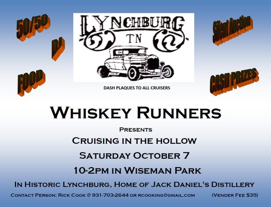 Whiskey Runners Cruising in the Hollow