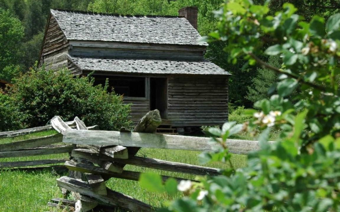 Our hayride drivers will tell you about the history of Cades Cove and point out old settler's home sties