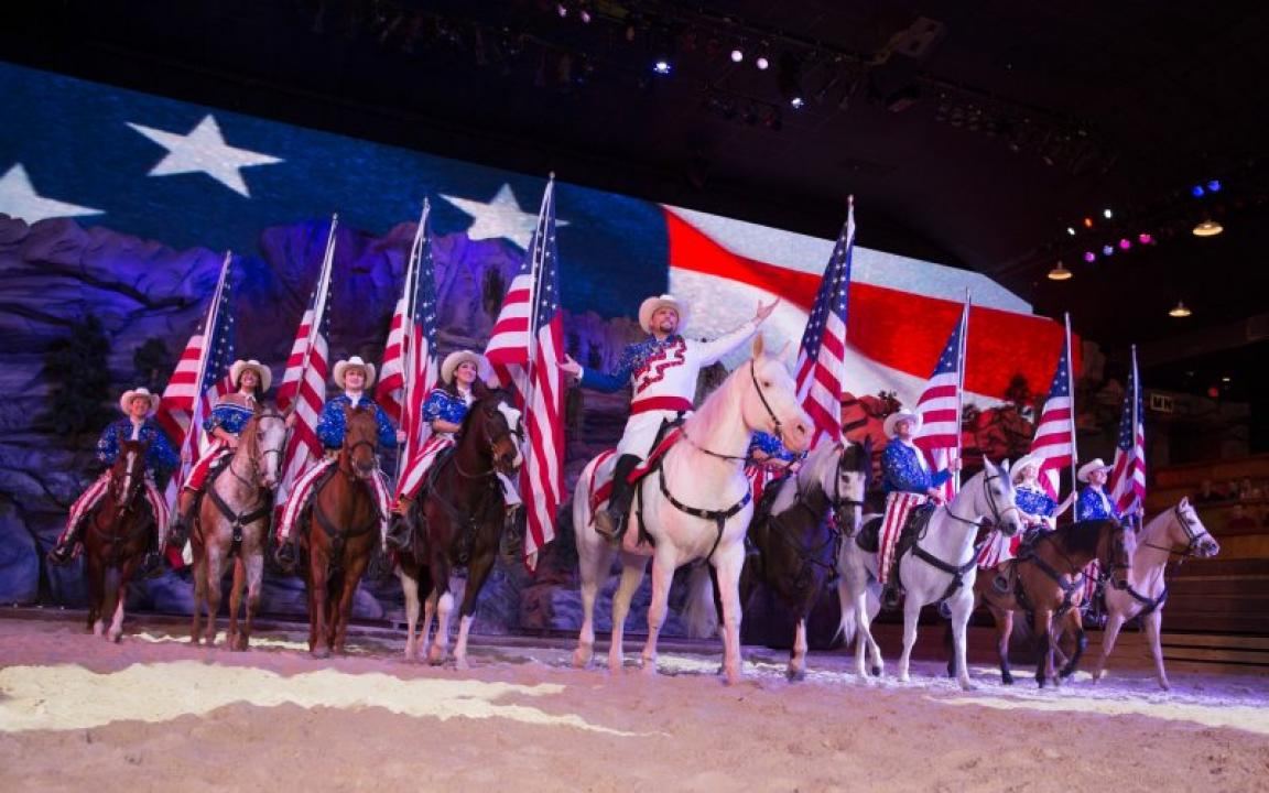 Dixie Stampede Dinner Attraction In Pigeon Forge Tn