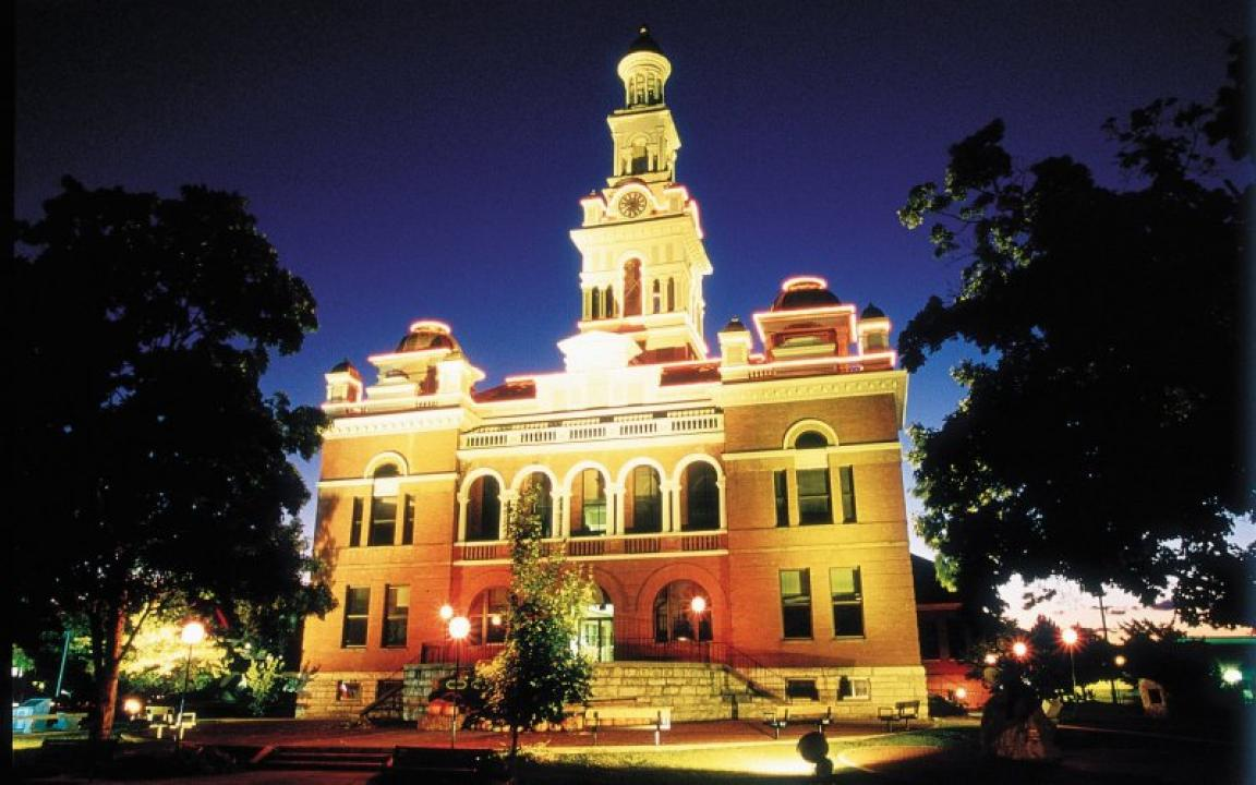 The Sevier County Courthouse was built in 1896.