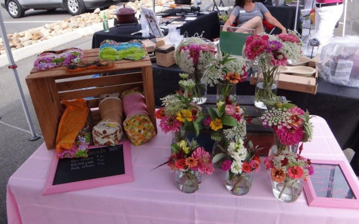 Sevierville's Farmer's Market takes place downtown on Fridays from June until October.
