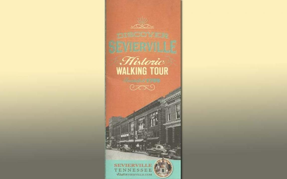 Pick up a free Historic Walking Tour brochure of downtown Sevierville.