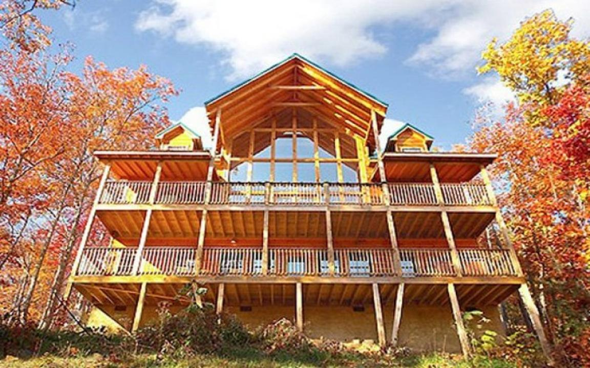 Fireside chalets in pigeon forge tn tennessee vacation - 7 bedroom cabins in pigeon forge ...