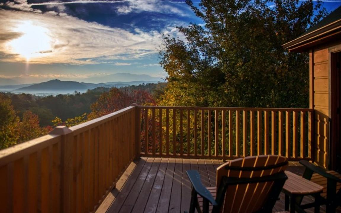 Smoky Mountain Cabin View