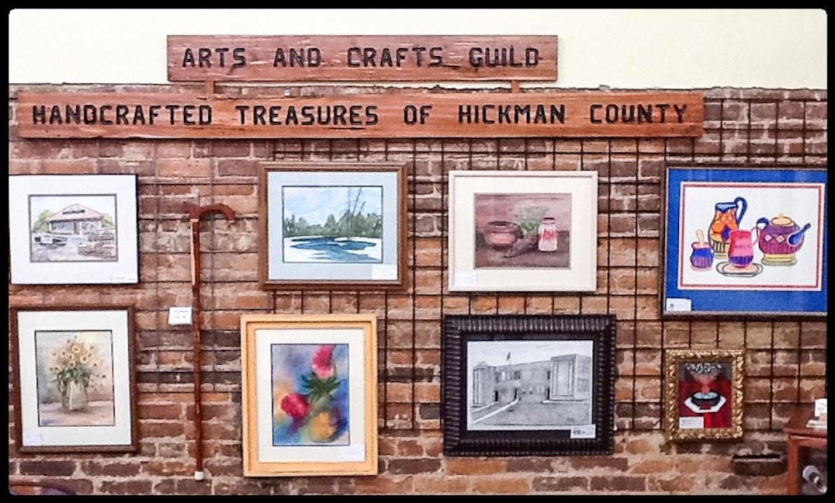 Art by Local Artisans of the Hickman County Arts and Crafts Guild