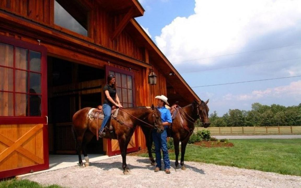 Long Branch Lakes Equestrian Center In Spencer Tn