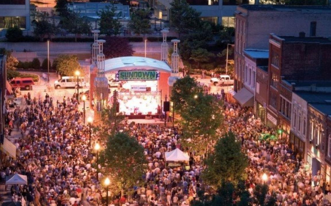 Market Square In Knoxville Tn Tennessee Vacation