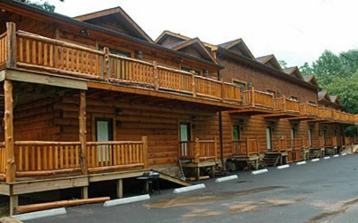 Mountain View Log Cabin Rentals In Tellico Plains Tn