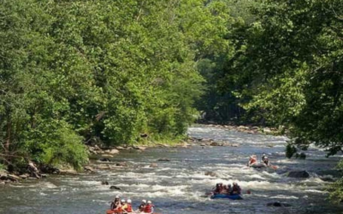 NOC Pigeon River Whitewater Rafting