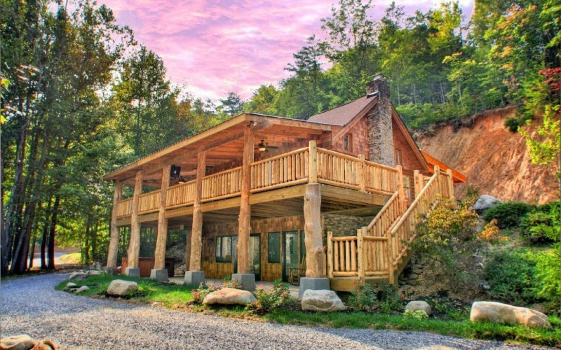 Parkside cabin rentals in gatlinburg tn tennessee vacation for Cabin rentals vicino a nashville tn