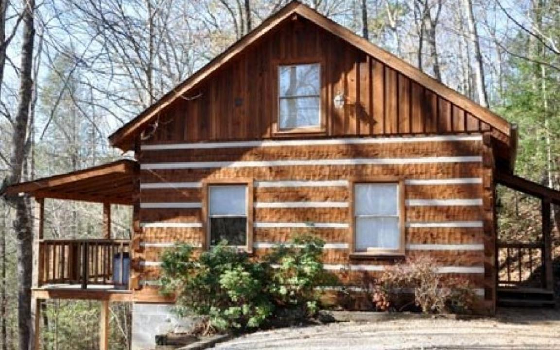 Ridgecrest log cabin chalet rentals in gatlinburg tn for Tennessee cabins gatlinburg