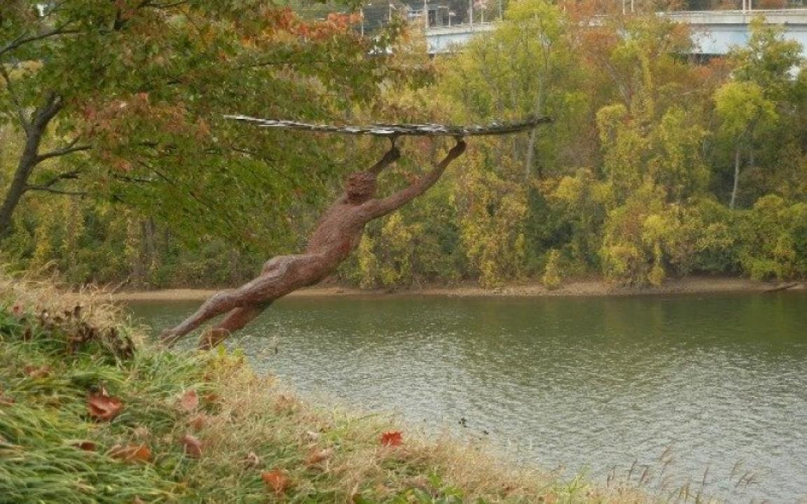 River Gallery Sculpture Garden in Chattanooga, TN - Tennessee Vacation