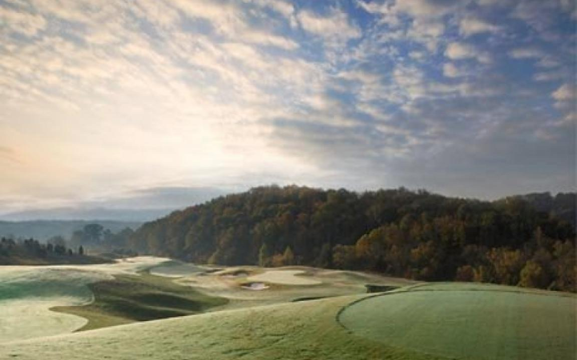 The Sevierville Golf Club features two 18 hole courses and beautiful views.