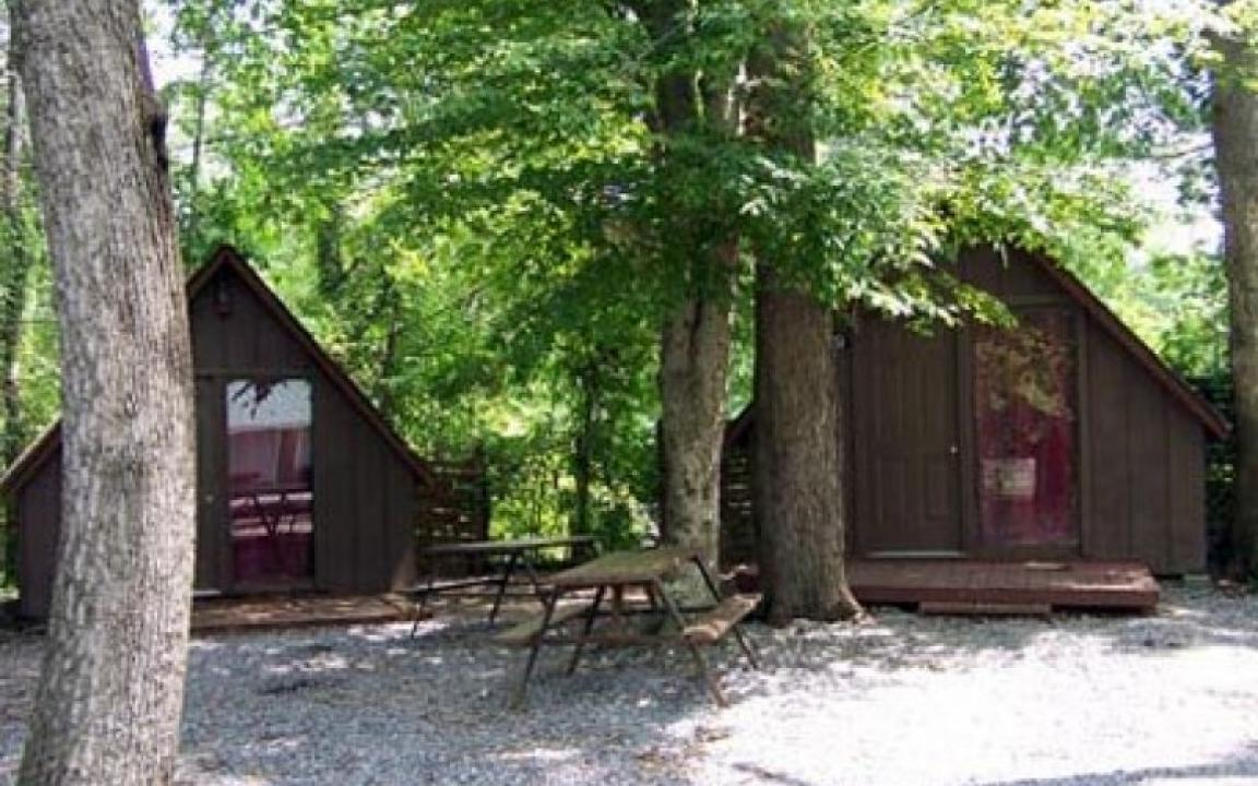 Shady Oaks Campground In Pigeon Forge Tn Tennessee Vacation