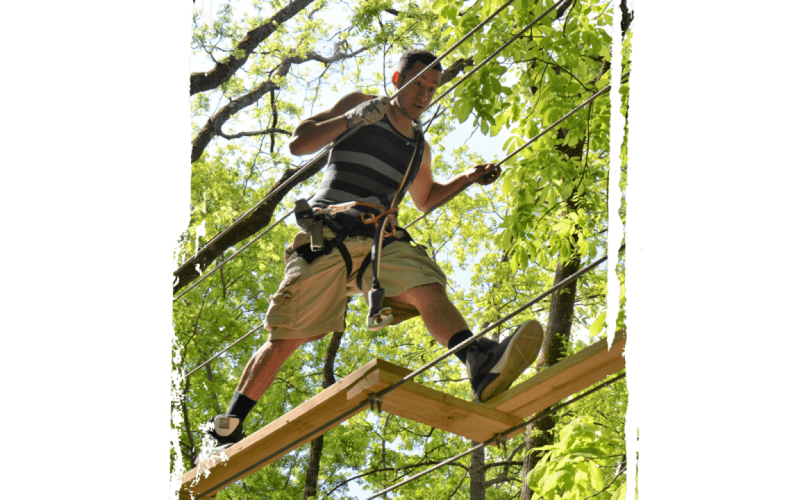 Tree Top Adventure Ropes Course In Sevierville Tn