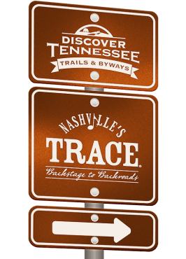 Nashville's Trace Trail sign graphic.