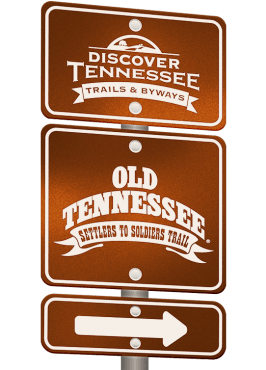 Old Tennessee Trail sign graphic.