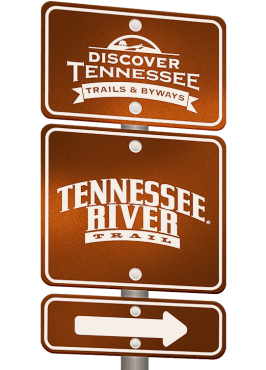 Tennessee River Trail sign graphic.