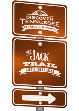 The Jack Trail sign graphic.