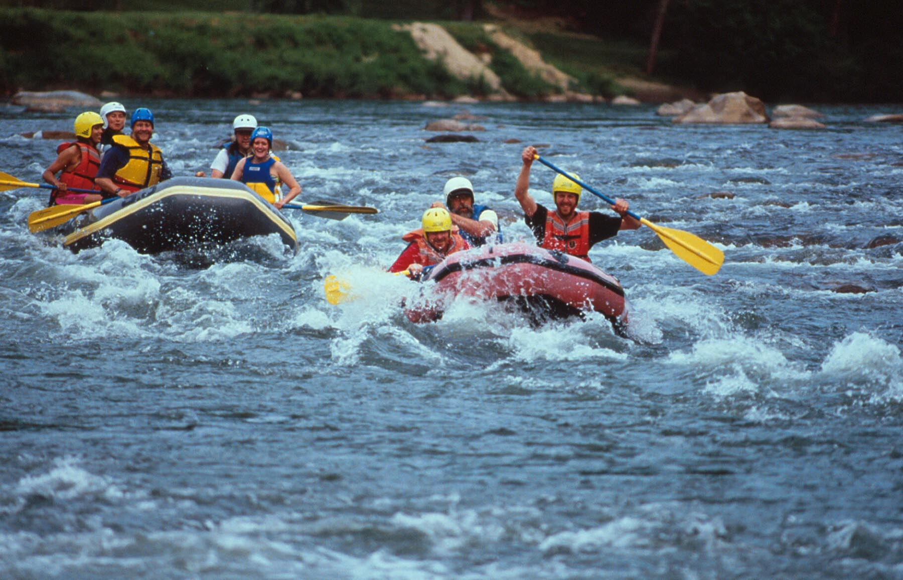 Whitewater Rafting Nolichucky River in TN