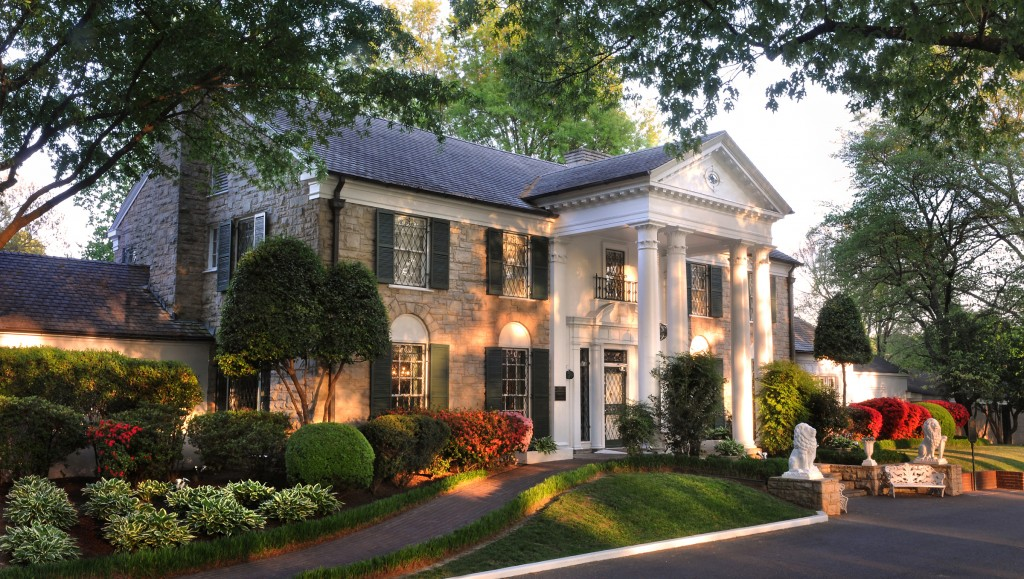 Elvis' Graceland in Memphis, TN