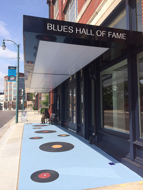 Blues Hall of Fame, Memphis (Photo: I Love Memphis Blog)