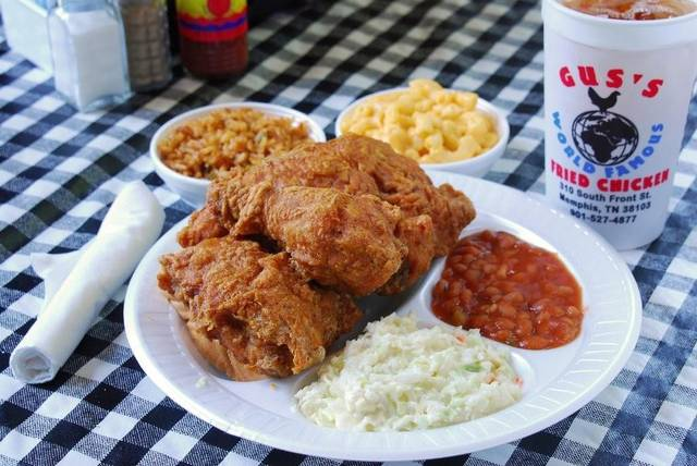 Gus's Fried Chicken, Memphis (Photo: Gus's)